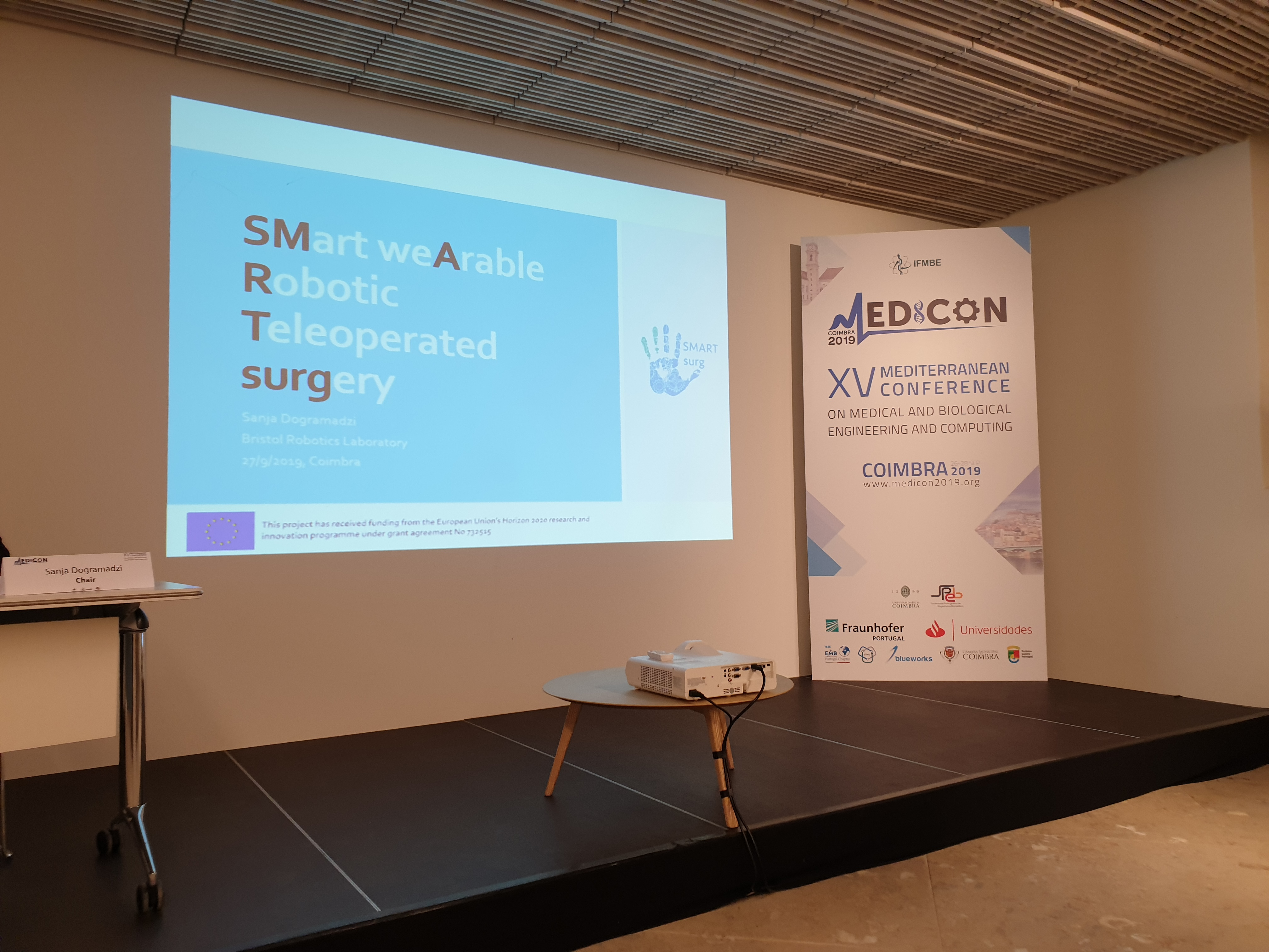 The SMARTsurg project experience @ MEDICON conference 2019